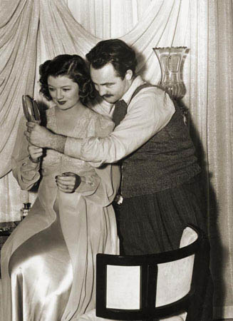 Tom Sr. with Myrna Loy